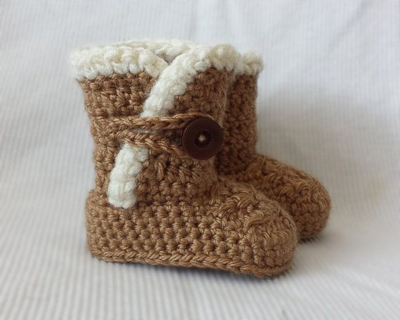 Ugh Crochet Boots Fresh How to Crochet Baby Ugg Boots Youtube Of Charming 49 Models Ugh Crochet Boots