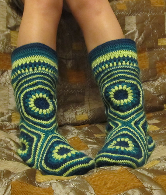 Ugh Crochet Boots Inspirational Hexagon Boot Slipper Crochet Lots Free Patterns Video Of Charming 49 Models Ugh Crochet Boots