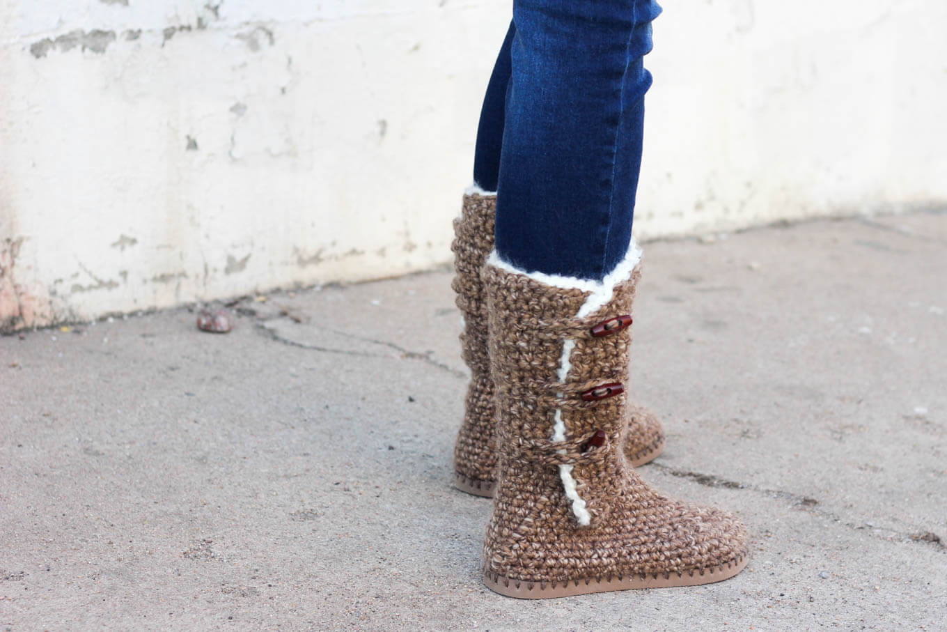 Ugh Crochet Boots Lovely Ugg Style Crochet Boots with Flip Flop soles Free Of Charming 49 Models Ugh Crochet Boots