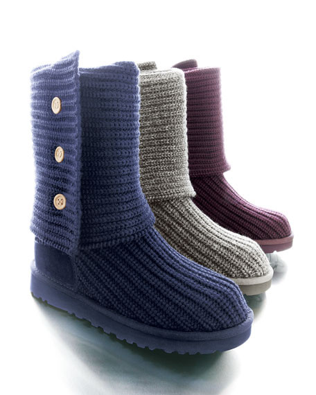 Ugh Crochet Boots New Ugg Crocheted Classic Shearling Boot Of Charming 49 Models Ugh Crochet Boots