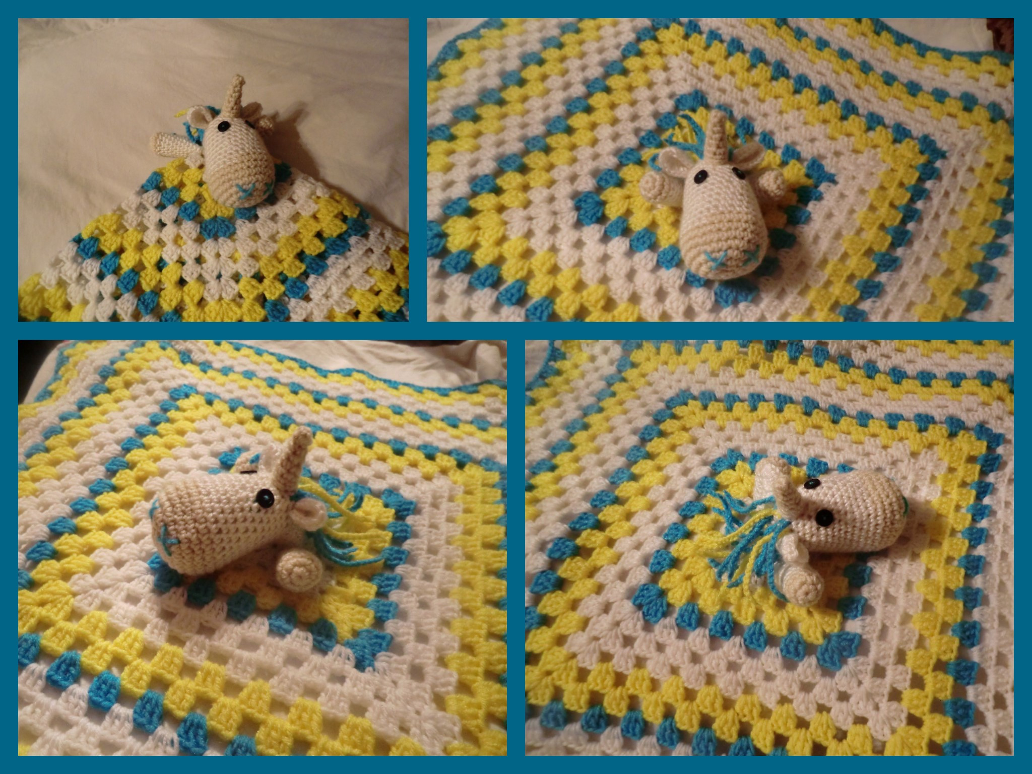 Look What Ive Made Projects Crochet Unicorn Lovey