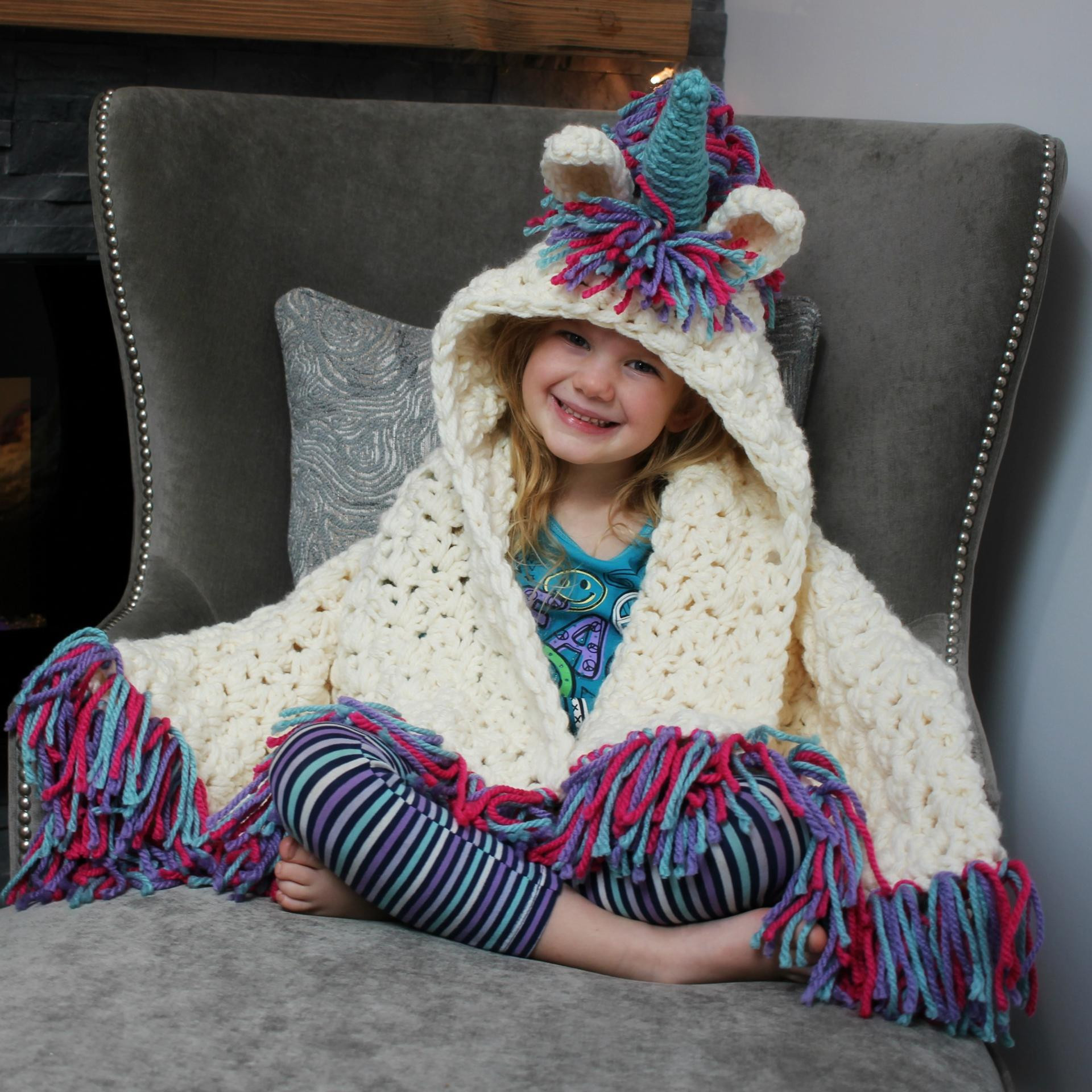 Unicorn Blanket Pattern Lovely 10 Crochet Hooded Blanket Patterns for Kids and Adults Of Lovely 48 Photos Unicorn Blanket Pattern