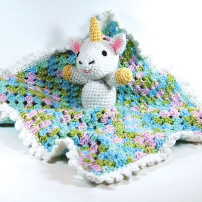 Unicorn Blanket Pattern Luxury Bernat softee Baby Unicorn Lovey Crochet Large Of Lovely 48 Photos Unicorn Blanket Pattern