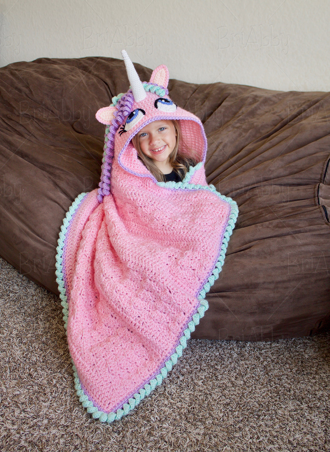 Unicorn Blanket Pattern Luxury Briabby Crochet Pattern Designs Of Lovely 48 Photos Unicorn Blanket Pattern
