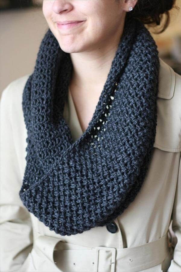 Unique 10 Easy Crochet Scarf Patterns Easy Knit Scarf Of Marvelous 48 Photos Easy Knit Scarf