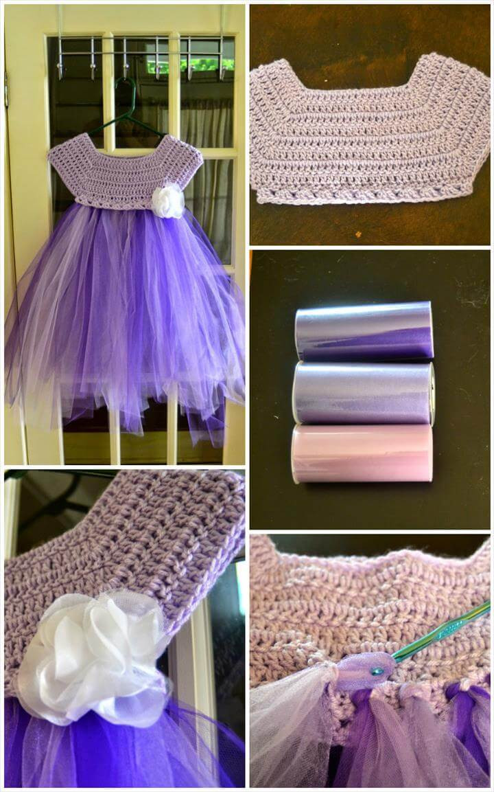 Unique 10 Free Crochet Patterns for Girl Tutu Dress top – 101 Crochet Crochet tops for Tutus Of Adorable 45 Models Crochet tops for Tutus