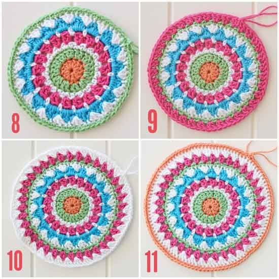 Unique 1000 Images About Crochet Mandala On Pinterest Mandala Crochet Patterns Of Beautiful 48 Pictures Mandala Crochet Patterns