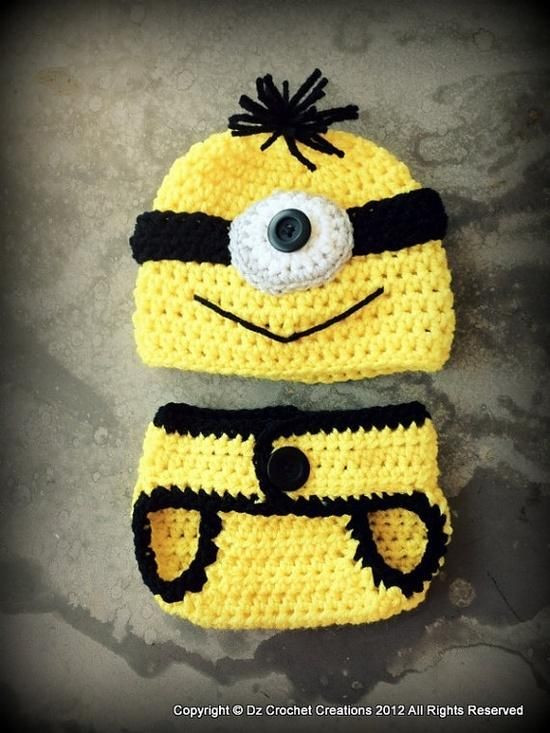 Unique 1000 Images About Crochet Minion Hat Patterns On Free Minion Crochet Pattern Of Marvelous 44 Images Free Minion Crochet Pattern