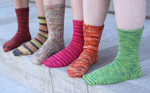 1000 images about Toe up socks knitting patterns on