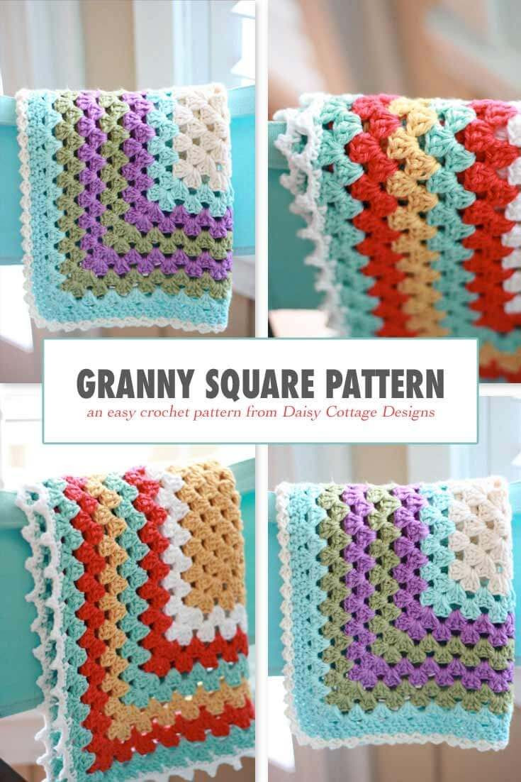 Unique 102 Best Images About Best Of Daisy Cottage Designs On Easy Granny Square Blanket Pattern Of Contemporary 40 Models Easy Granny Square Blanket Pattern