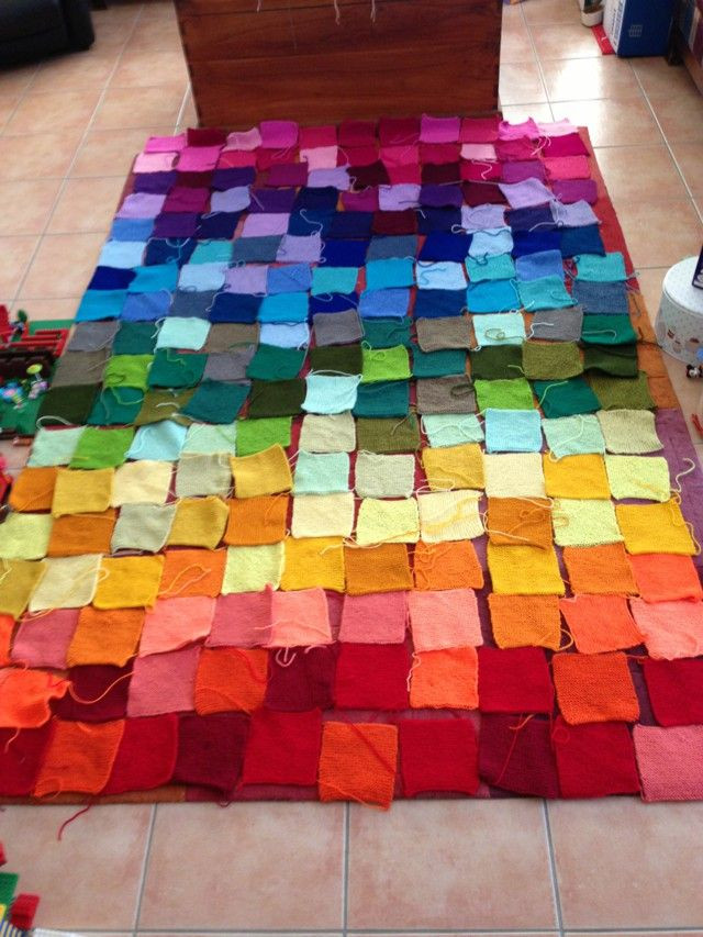 Unique 116 Best Knitted Squares Blanket Images On Pinterest Knitted Blanket Squares Of Unique 45 Photos Knitted Blanket Squares