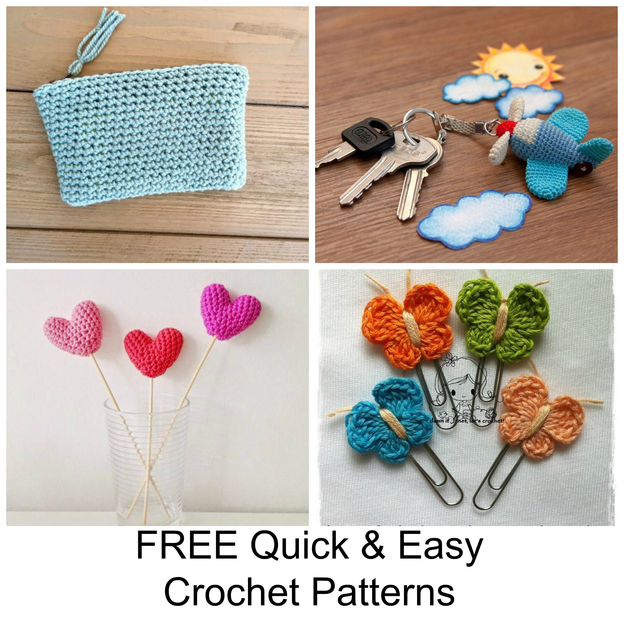 Unique 13 Free Quick and Easy Crochet Patterns Easy Crochet Projects Of Awesome 49 Pics Easy Crochet Projects