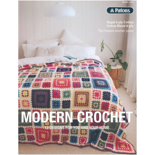 1316 Modern Crochet by Patons