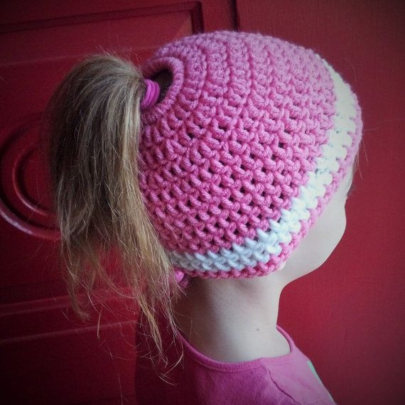 Unique 17 Best Ideas About Little Girl Ponytails On Pinterest Crochet Hat with Ponytail Hole Of Attractive 47 Pics Crochet Hat with Ponytail Hole