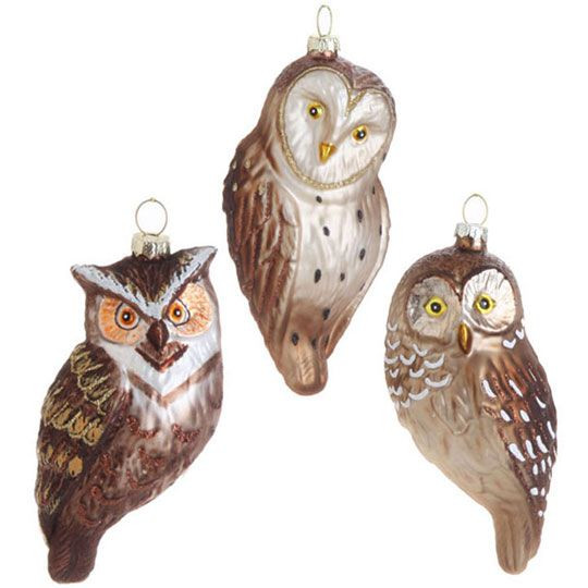 Unique 17 Best Images About Bird ornaments Owl Christmas Decorations Of Delightful 49 Pics Owl Christmas Decorations