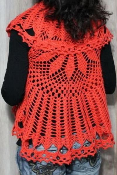 Unique 17 Best Images About Crochet Vest Pattern On Pinterest Crochet Circular Vest Of Delightful 46 Models Crochet Circular Vest