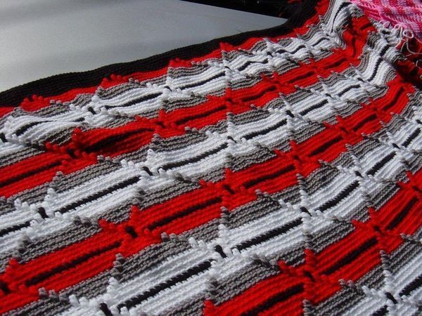Unique 17 Best Images About Crocheted Blankets On Pinterest Navajo Crochet Pattern Of Perfect 48 Pics Navajo Crochet Pattern