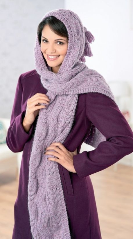 17 Best images about Hooded Scarves on Pinterest