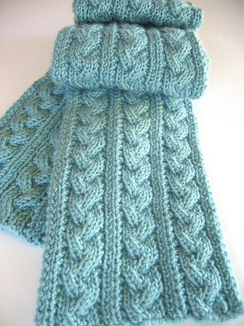 17 Best images about knit scarf patterns on Pinterest