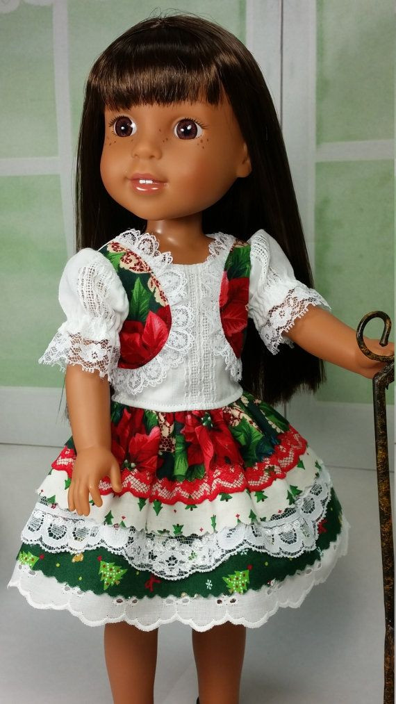 Unique 17 Best Images About Wellie Wisher Outfits by Shirley American Girl Christmas Dress Of Lovely 47 Models American Girl Christmas Dress
