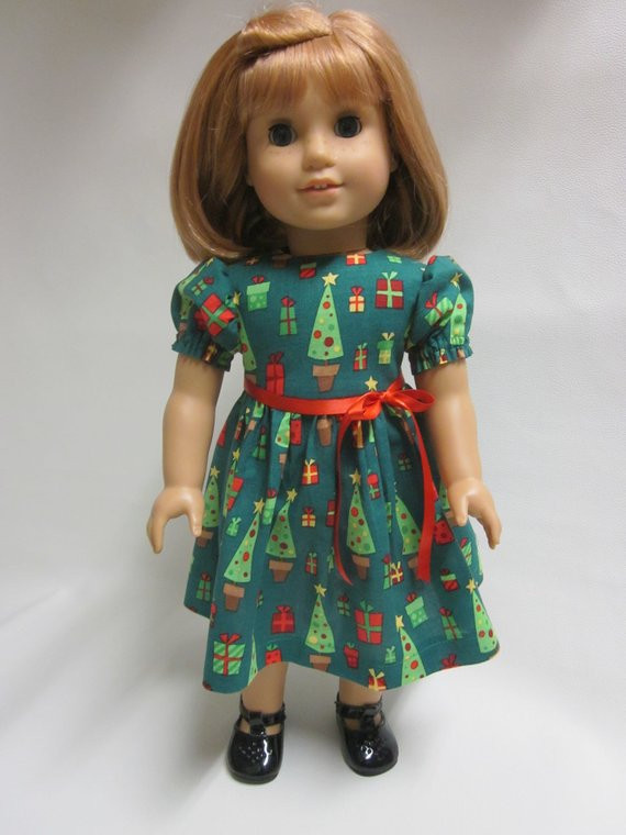 18 inch American Girl Doll Clothes Holiday by IndustriousDog