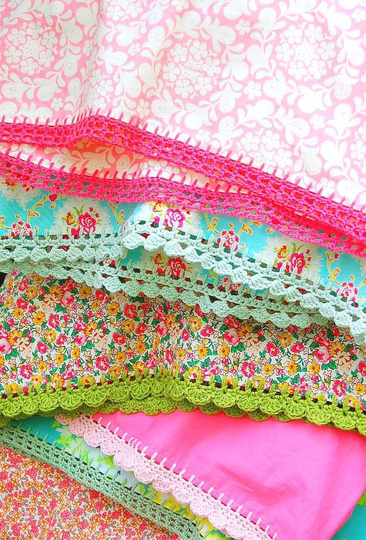 Unique 19 Best Images About Pillowcases On Pinterest Crochet Pillowcase Edging Of Attractive 45 Photos Crochet Pillowcase Edging