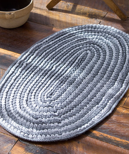 Unique 19 Crochet Rug Patterns Crochet Rug with Fabric Strips Of Adorable 46 Images Crochet Rug with Fabric Strips