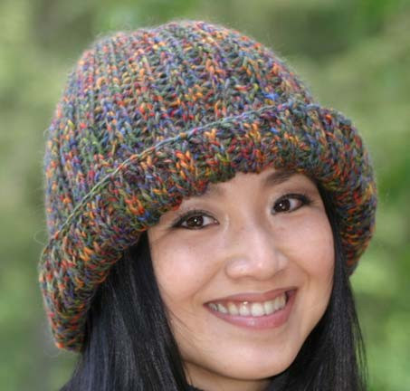 Unique 19 Free Hat Knitting Patterns Ribbed Hat Of Amazing 42 Pictures Ribbed Hat