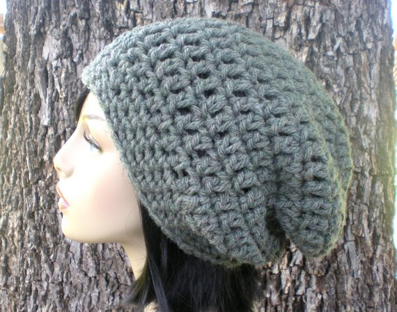 Unique 2 Patterns Willow Slouch & Ear Band Easy Crochet Pdf Adult Bulky Yarn Hat Pattern Of New 47 Images Bulky Yarn Hat Pattern