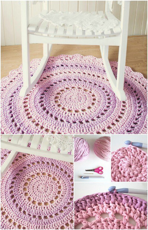 Unique 20 Amazing Free Crochet Patterns that Any Beginner Can Crochet Rug Patterns with Yarn Of Great 50 Images Crochet Rug Patterns with Yarn