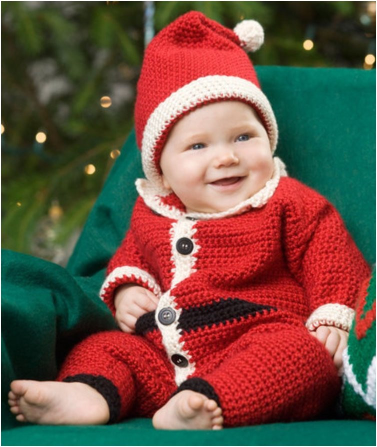 Unique 20 Free & Amazing Crochet and Knitting Patterns for Cozy Crochet Baby Santa Hat Of Amazing 44 Images Crochet Baby Santa Hat