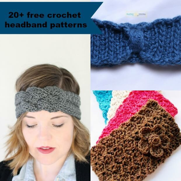 Unique 20 Free and Easy Crochet Headband Patterns Crochet Bands Of Adorable 46 Pics Crochet Bands
