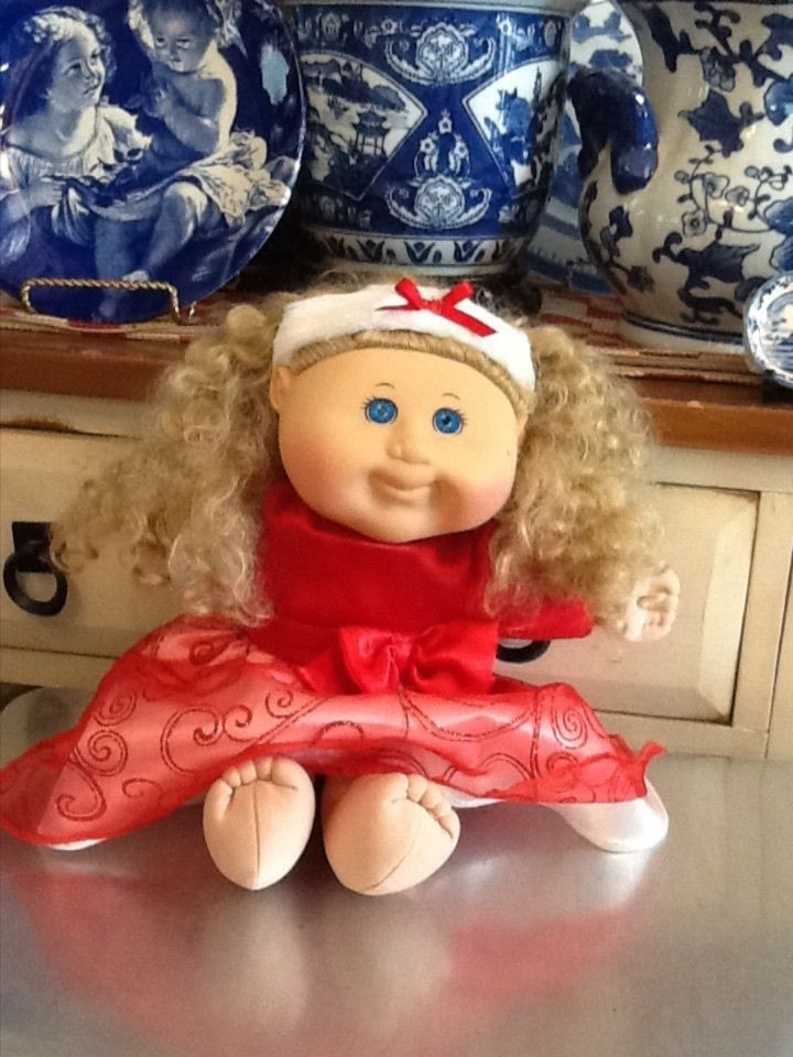 Unique 2011 Cabbage Patch Kid Doll Christmas Curly Hair Blonde Baby Cabbage Patch Doll Of Great 47 Photos Baby Cabbage Patch Doll