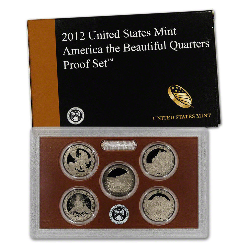 2012 United States Mint America the Beautiful Quarters