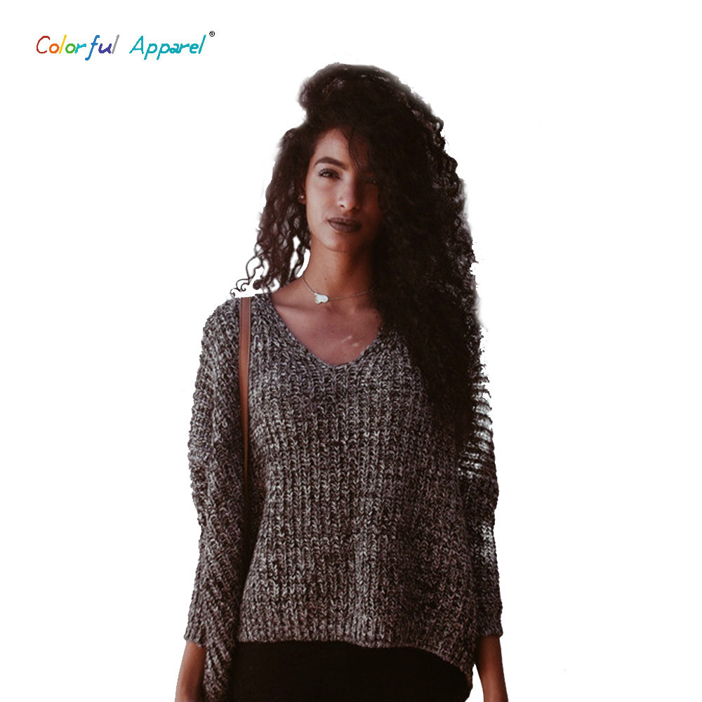 Unique 2016 Women Ss V Neck Batwing Sleeve Sweater Oversized Oversized Crochet Sweater Of Superb 44 Images Oversized Crochet Sweater