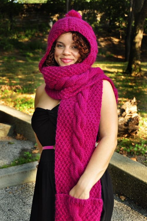 Unique 23 Best Images About Knit the Hood On Pinterest Hooded Scarf Knitting Pattern Of Delightful 48 Pictures Hooded Scarf Knitting Pattern