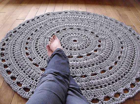Unique 24 Creative & Useful Crochet Rug Patterns Patterns Hub Crochet Rug with Fabric Strips Of Adorable 46 Images Crochet Rug with Fabric Strips