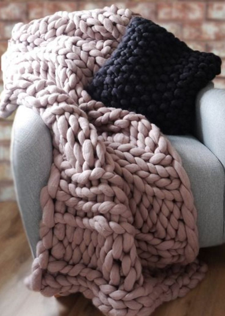 Unique 25 Bästa Idéerna Om Chunky Knit Blankets På Pinterest Chunky Knit Of Incredible 50 Pictures Chunky Knit