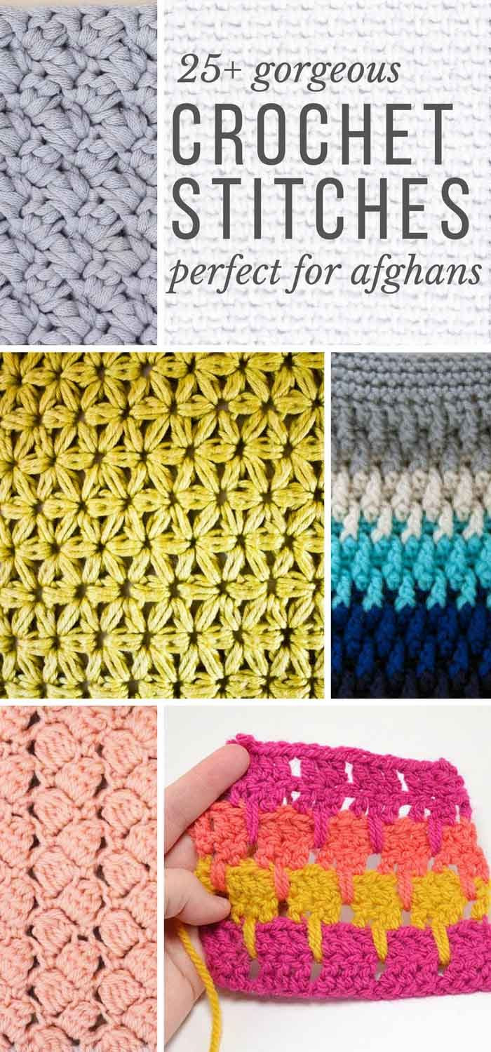 Unique 25 Crochet Stitches for Blankets and Afghans Crochet Stitches Tutorial Of Innovative 46 Images Crochet Stitches Tutorial
