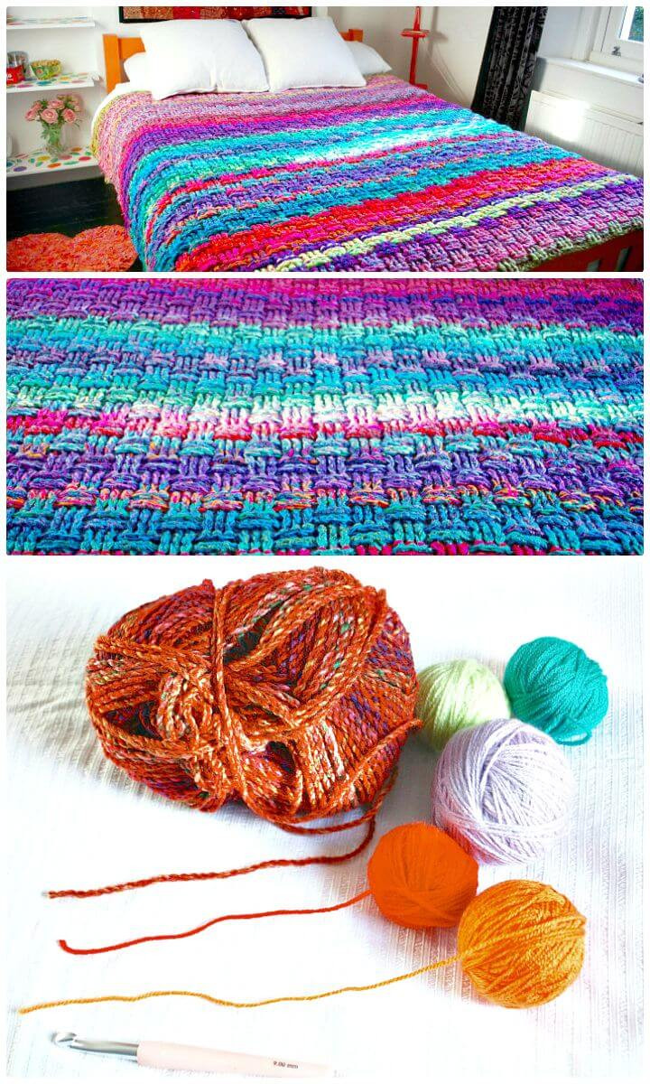 Unique 25 Free Crochet Basket Weave Stitch Patterns Diy & Crafts Basket Stitch Of Lovely 48 Models Basket Stitch