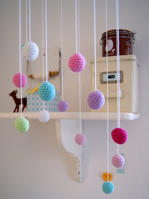 Unique 251 Best Images About Crochet Mobiles On Pinterest Crochet Baby Mobile Of Amazing 42 Ideas Crochet Baby Mobile