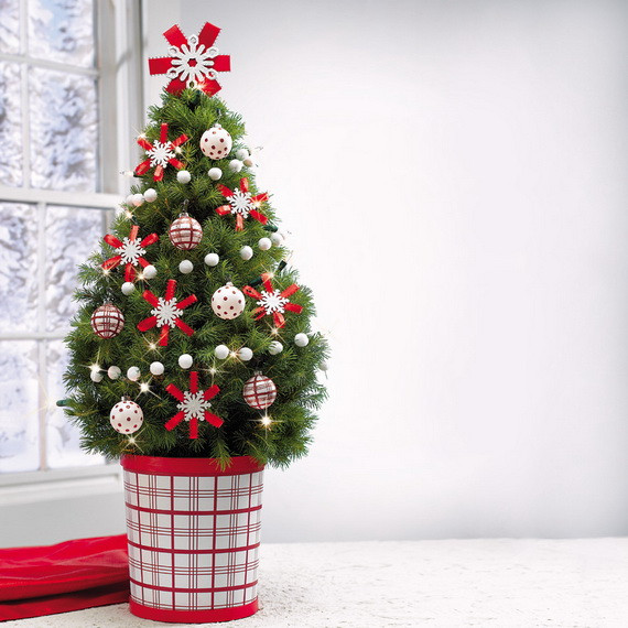 Unique 29 Awesome Tabletop Christmas Tree Ideas for Small Spaces Miniature Christmas Decorations Of Fresh 50 Pictures Miniature Christmas Decorations