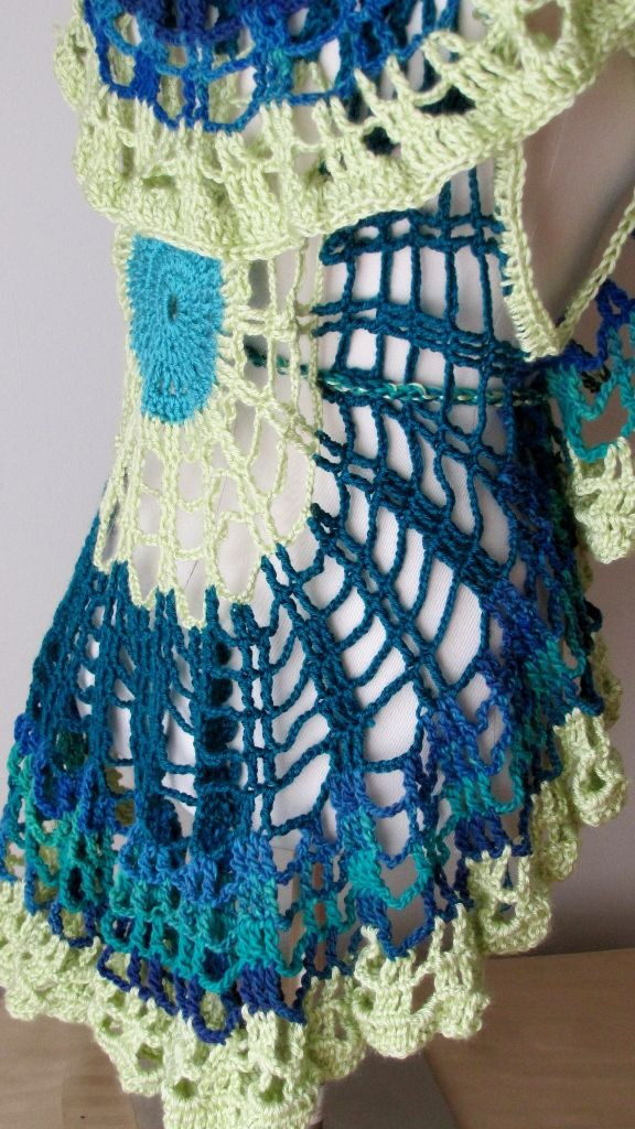 Unique 30 Best Circle Vest Images On Pinterest Crochet Circular Vest Of Delightful 46 Models Crochet Circular Vest