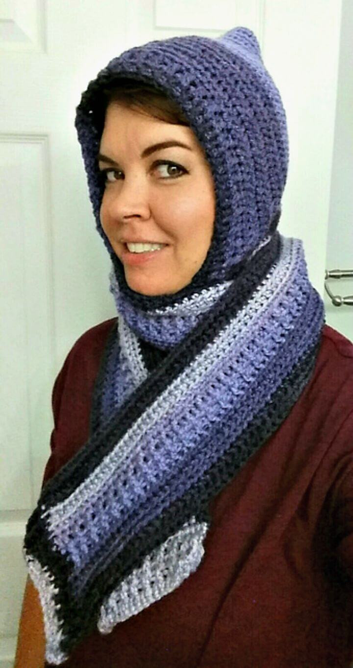 Unique 31 Free Crochet Hooded Scarf Patterns Diy & Crafts Free Hooded Scarf Crochet Pattern Of Awesome 40 Models Free Hooded Scarf Crochet Pattern
