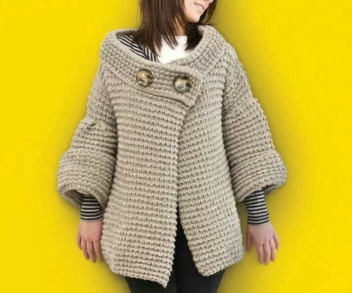 Unique 39 Best Images About Big Needle Knitting On Pinterest Knitted Coat Patterns Of Charming 41 Models Knitted Coat Patterns