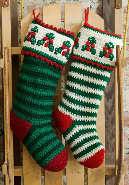 Unique 40 All Free Crochet Christmas Stocking Patterns Patterns Hub Crochet Christmas Stockings Of Contemporary 48 Pics Crochet Christmas Stockings