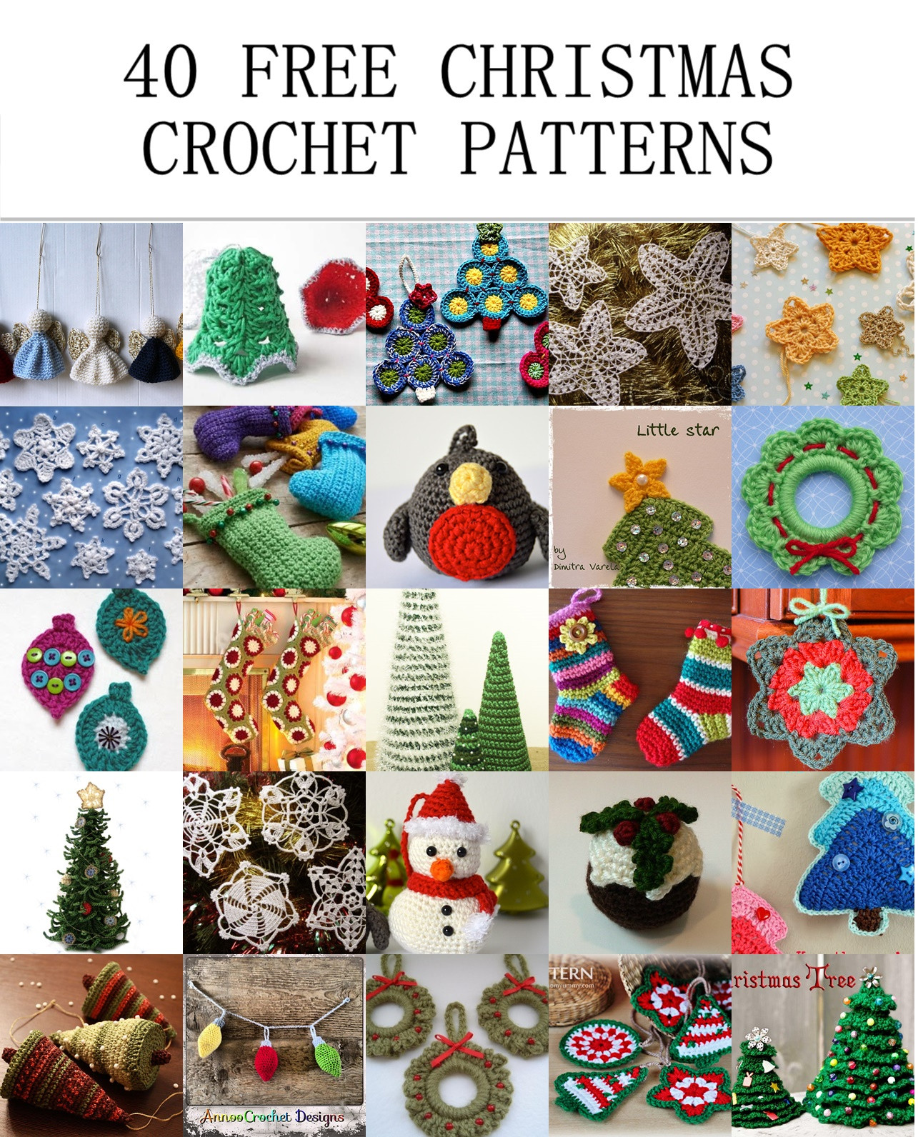 Unique 40 Free Christmas Crochet Patterns Free Christmas Crochet Patterns Of Charming 49 Images Free Christmas Crochet Patterns