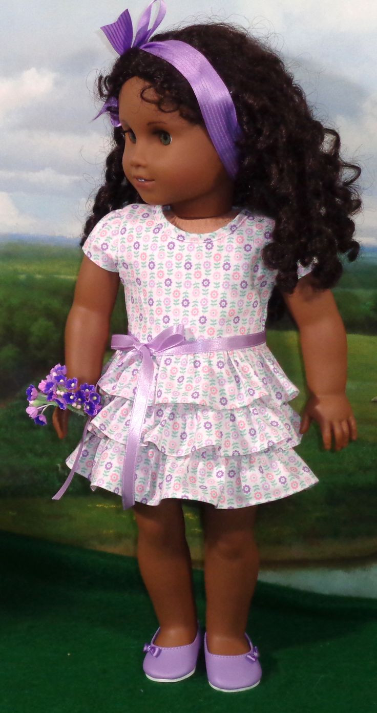 42 best images about american girl doll dresses & ruffles