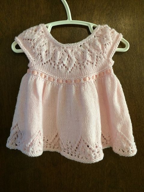 Unique 421 Best Images About Knit Dresses for Little Girls On Knitted Baby Dress Of Brilliant 49 Photos Knitted Baby Dress