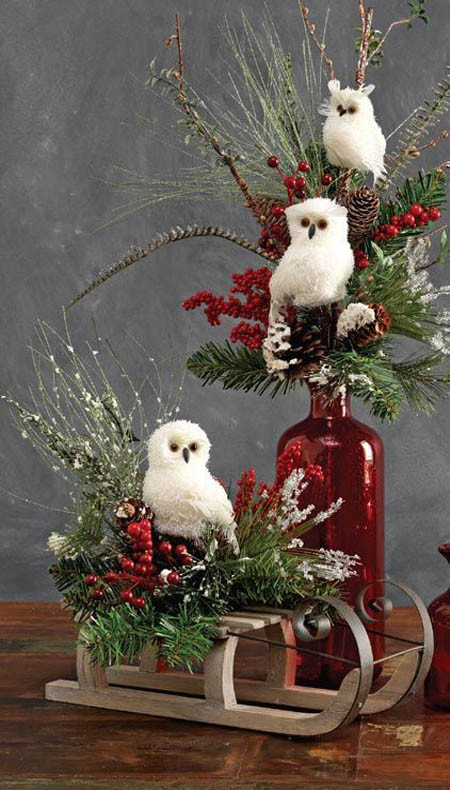 Unique 45 Most Pinteresting Rustic Christmas Decorating Ideas Owl Christmas Decorations Of Delightful 49 Pics Owl Christmas Decorations